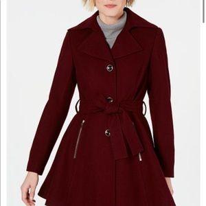 Women's wool blend coat